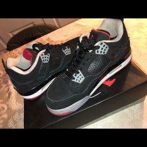 Jordan Bred 4's